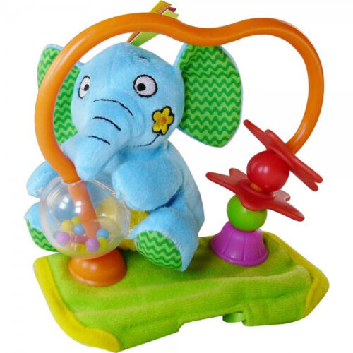 Plisani slon za decija kolica