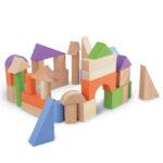 drvene kocke blokovi pino 40 kom