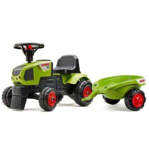 zelena guralica traktor za decu