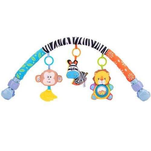 luk za decija kolica sa igrackama zebra