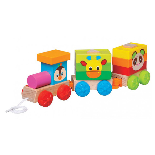 parkfield igracka za decu 81601 drveni voz 1