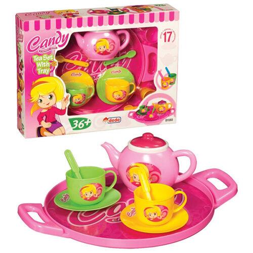 Roze igracka set za caj Candy