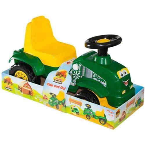 zeleno zuta guralica traktor dede