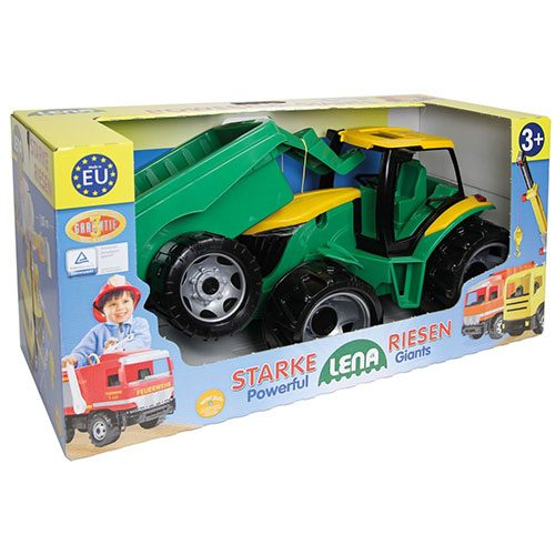 Igracka traktor sa prikolicom 2