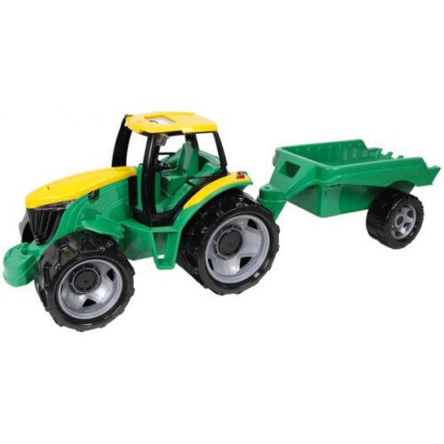 Lena zeleni traktor sa prikolicom cm