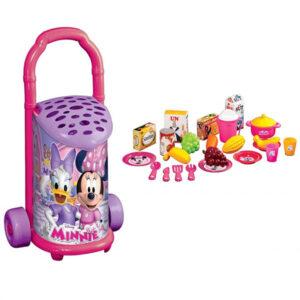 Plasticna kolica sa namirnicama Minnie mouse