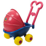 Sarena kolica za lutke bebe Mina