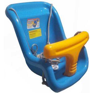 plasticna plava ljuljaska za decu Sara