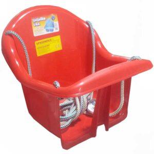 plasticna crvena ljuljaska za bebe una