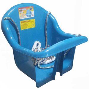 plasticna plava ljuljaska za bebe