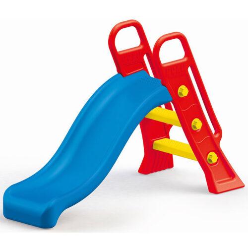 Plavo crveni tobogan za decu