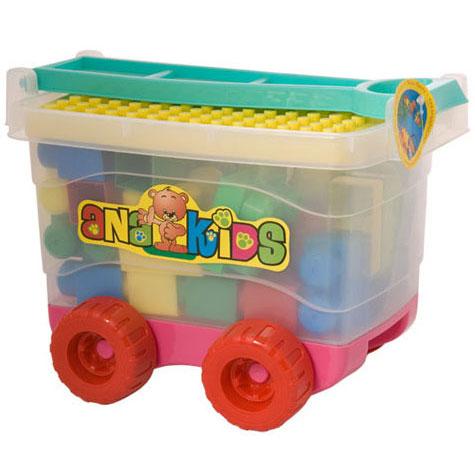 kutija sa kockama i ruckom mop