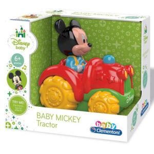 Miki Maus u crveno zutom traktoru, igracka za decu