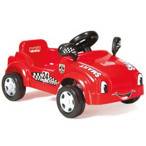 Crveni auto na pedale Smart