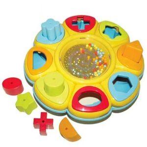 edukativna igracka za bebe cvet