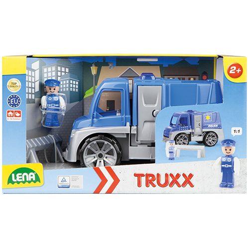 Plavi Lena kamion Policija