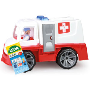 Crveno beli Lena kamion hitna pomoc