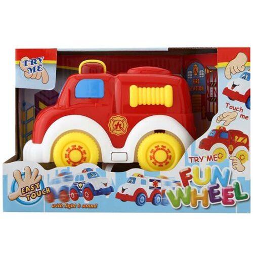 crveni vatogasni bebi auto