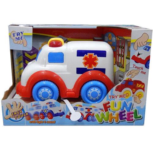 Auto za bebe Funwheel beli