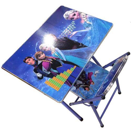 deciji sto i stolica frozen