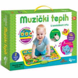 Muzicki tepih za bebe Divlje zivotinje