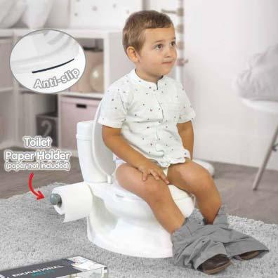 nosa za decu wc solja dolu bela