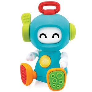 Igracka robot plave boje sa zvucnim i svetlosnim efektima