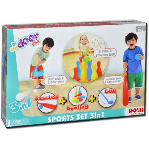 Sportski set za decu kuglanje,bejzbol i golf