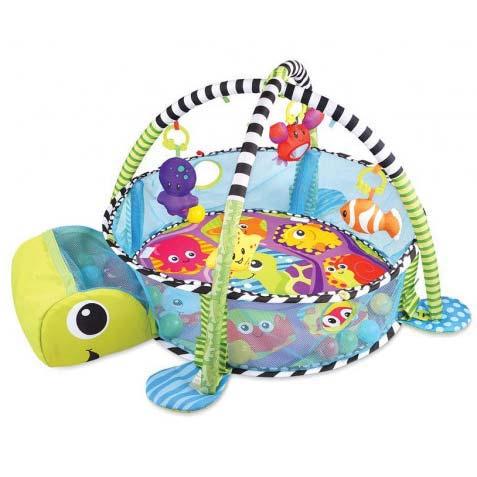 gimnastika za bebe kornjaca i 30 loptica