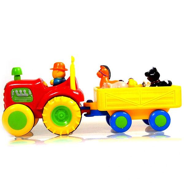 traktor za bebe sa domacim zivotinjama activity