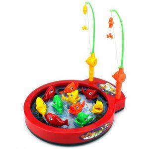 igracka za decu pecanje dve pecaljke i ribica
