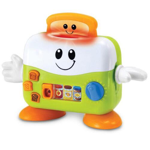 Zeleno beli toster igracka za decu