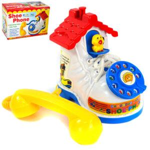 sarena igracka u obliku telefona