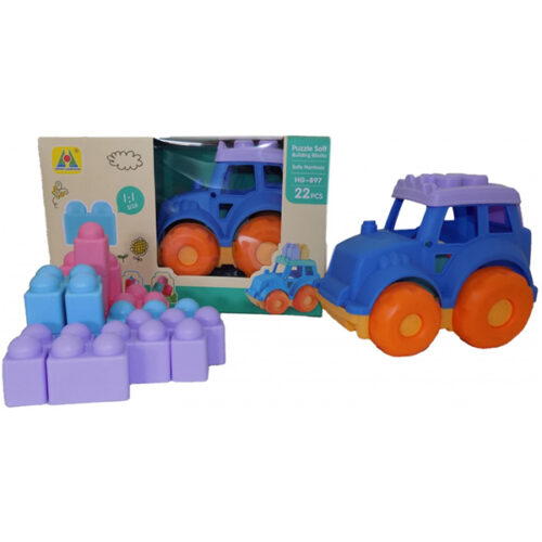 Gumene kocke i traktor Magzy