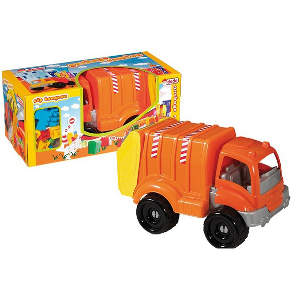 Kamion sa kockama Djubretarac Dede