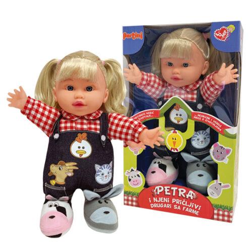 Krpena lutka sa plavom kosom Petra