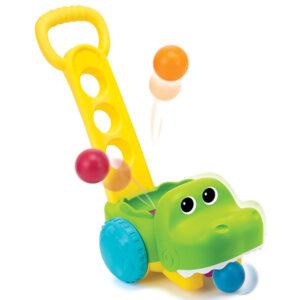 igracka aligator za skupljanje loptica