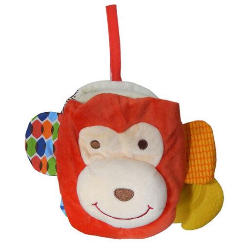 Edukativna knjiga za bebe Majmunce