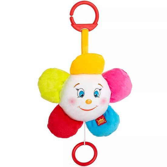 plisana muzicka igracka za bebe u obliku cveta