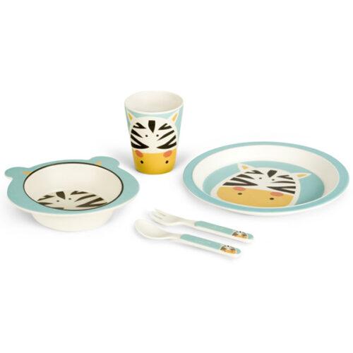 Set za hranjenje od bambusa Zirafa 2