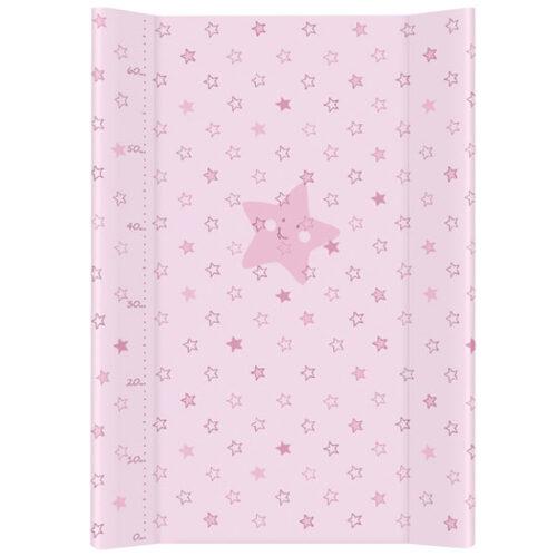 tvrda podloga za presvlacenje bebe roze boje