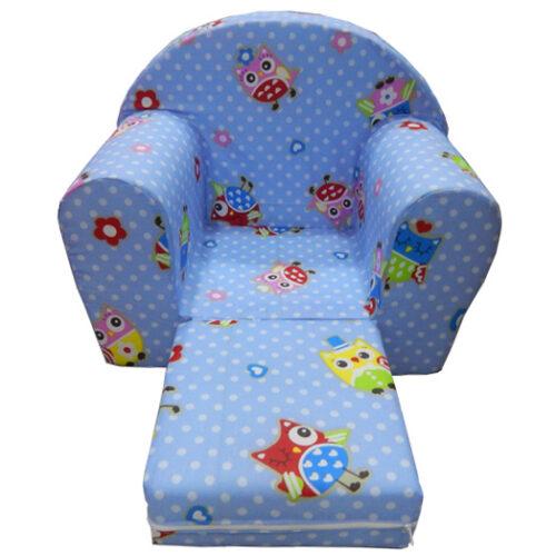 Fotelja za decu Soft Sovica 2