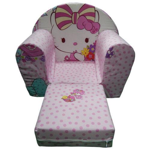Foteljica za decu Soft Hello kitty 2