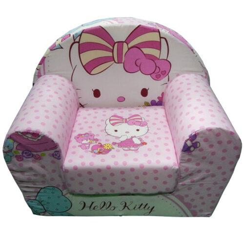 Foteljica za decu Soft Hello kitty