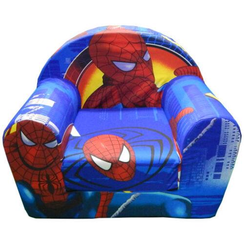 Foteljica za decu Soft Spiderman