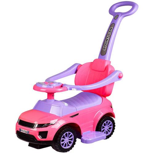 Guralica auto za bebe Biagio roze