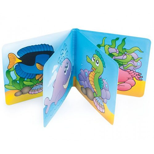knjiga za kupanje beba riba 3