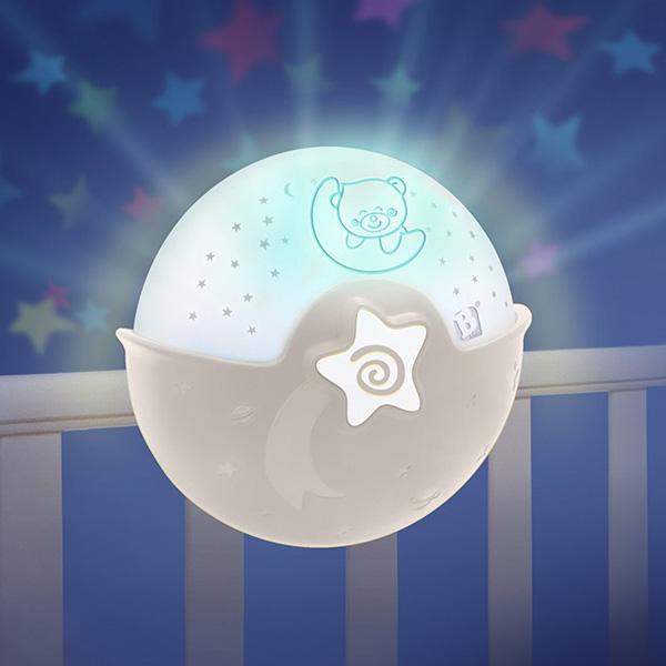 Nocna lampa Infantino braon 2