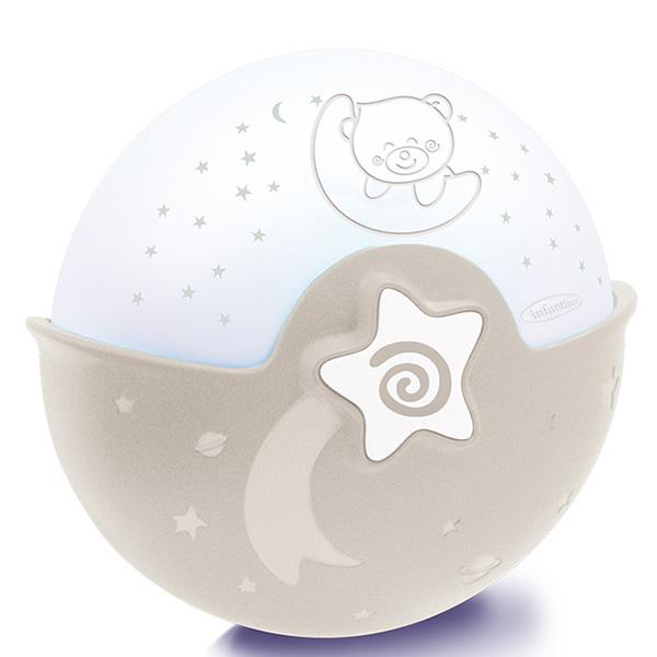 Nocna lampa Infantino braon