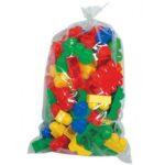 sarene plasticne kocke u vreci 93 polesie